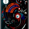 """(alt=""""lithography Wassily KANDINSKY Comets monogrammed in the plate 1938"""")"""