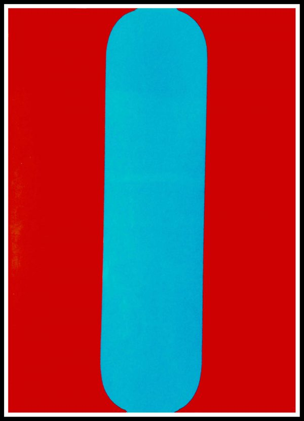 """(alt=""""original lithography KELLY Ellsworth, abstract composition, printed by MOURLOT 1964"""")"""