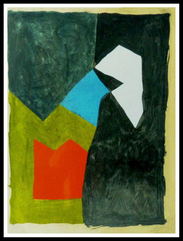 "ALT ""Original stencil Serge Poliakoff - Edition Limited"""