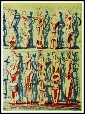 "(ALT=""Original lithography Henry Moore 1951"")"