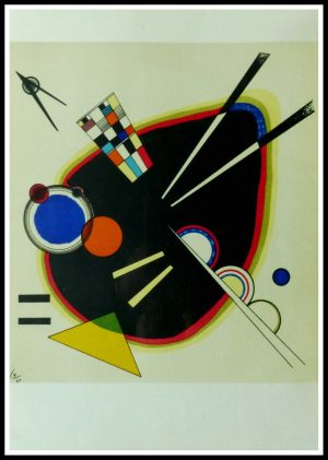 """(alt=""""lithography Wassily KANDINSKY Composition III monogrammed and dated in the plate 1953"""")"""