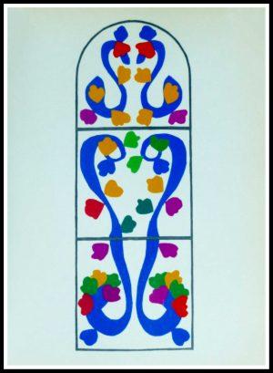 "(alt=""lithography Matisse vigne 1958"""