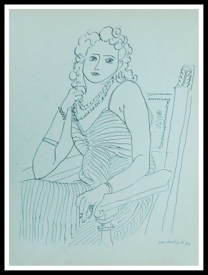"(alt=""lithography Matisse thèmes et variations 1943"")"