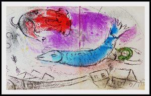 """(alt=""""original lithography Marc CHAGALL Maternité au centaure 1957"""")"""