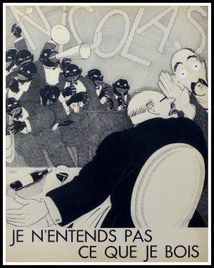 """(alt=""""original lithography Paul Iribe, Nicolas 1930"""")"""