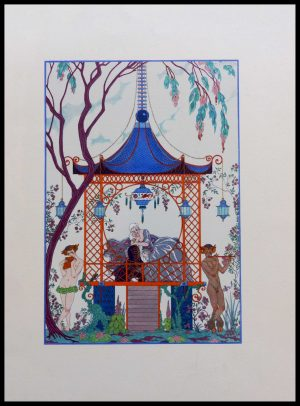 "(alt=""original lithography Georges BARBIER art deco 1920"")"