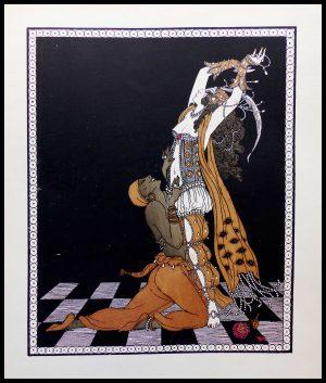 "ALT ""Nijinski Georges BARBIER original stencil"""