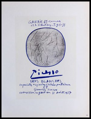 """(alt=""""lithography Pablo PICASSO Galerie 65 Cannes 1959"""")"""