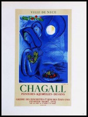 """(alt=""""lithography Marc CHAGALL Ville de Nice 1959"""")"""