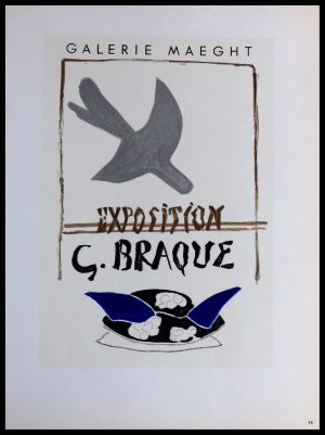 "(alt=""Lithography Georges BRAQUE Galerie Maeght Exposition 1959"")"