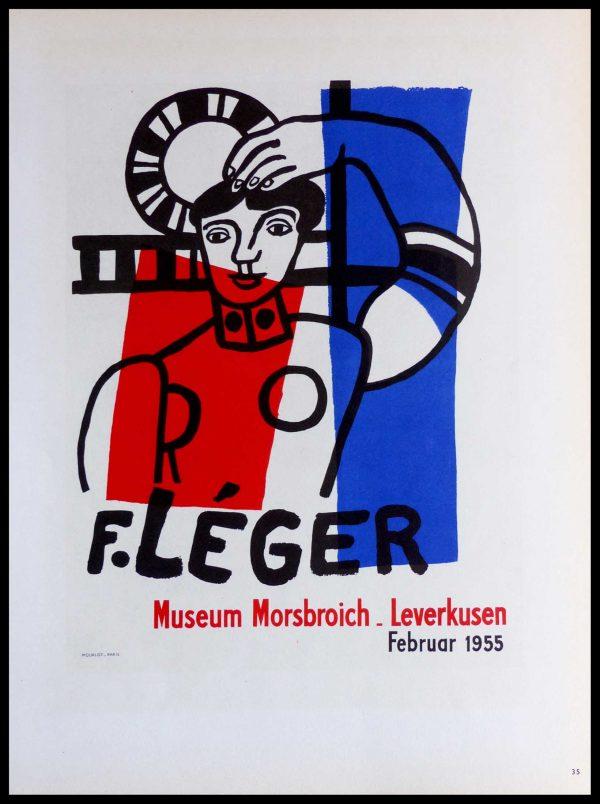 """(alt=""""lithography Fernand LEGER Museum Morsbroich Leverkusen 1959"""""""")"""