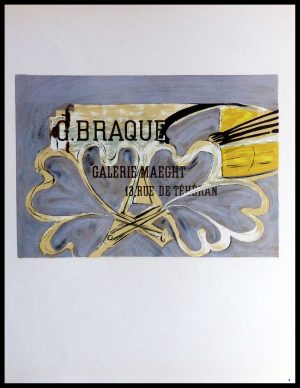 "(alt=""Lithography Georges BRAQUE Galerie Maeght 1959"")"