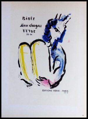 "(alt=""lithography Marc CHAGALL Editions VERVE Paris"")"