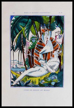 """(alt=""""original lithography Robert BONFILS art deco 1920"""")"""