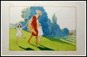 "(alt=""original stencil André MARTY art deco lithography"")"