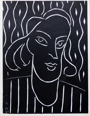 "(alt=""linocut Henri MATISSE Teeny signed and dated in the plate 1959"")"