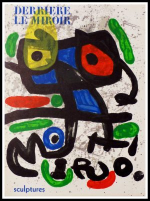 "ALT ""Original lithography Miro Composition 1970"""