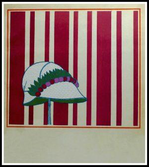 """(alt= """"Original stencil Georges LEPAPE, Paul POIRET 1911"""")"""