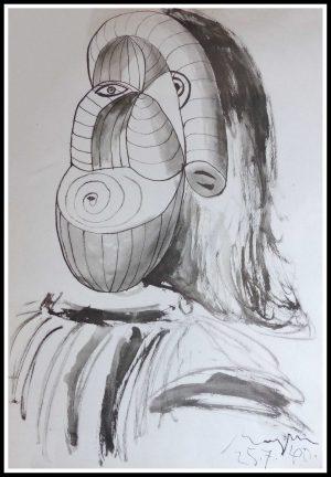 "(alt=""lithography Pablo Picasso carnet de dessins 1948"")"