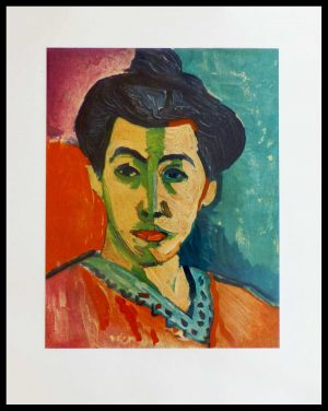 "(alt=""lithography Henri MATISSE portrait Amélie Matisse's wife 1954"")"