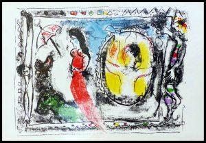 "(alt=""original lithography Marc CHAGALL circus 1964"")"