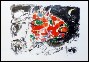 """(alt= """"Lithography Marc CHAGALL 1972"""")"""