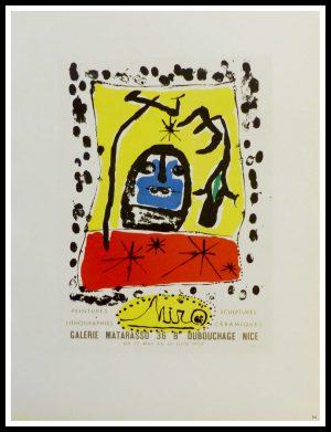 "(alt=""lithography Joan MIRO Galerie Matarasso Nice 1959"")"