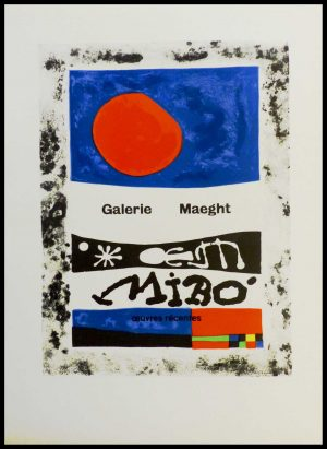 """(alt=""""lithography Joan MIRO Oeuvres récentes Galerie Maeght 1959"""")"""