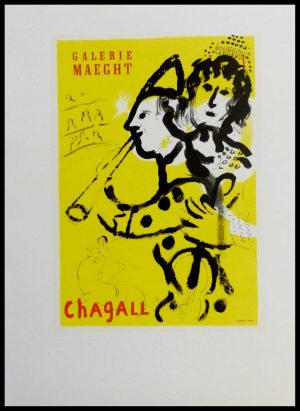 """(alt =""""Marc Chagall Galerie Maeght lithography"""")"""
