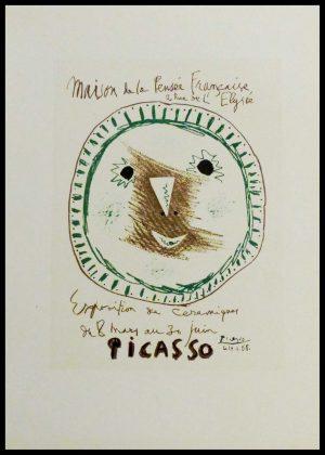 """(alt=""""lithography Picasso Exposition Céramiques1959"""")"""