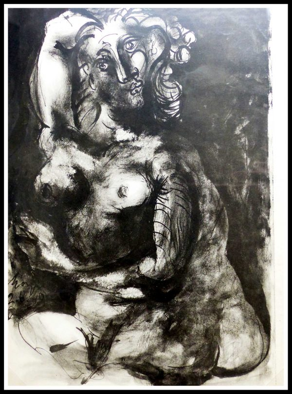 """(alt=""""lithography Pablo PICASSO nude 1948"""")"""