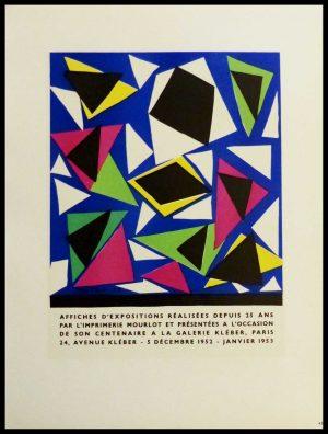"""(alt=""""lithography Henri MATISSE affiches d'expositions réalistes 1959"""")"""