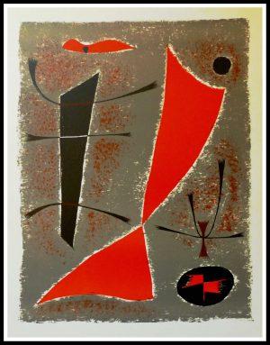 "(alt=""Gustave SINGIER, original lithography, composition, 1955, printed by MOURLOT Paris, limited edition"")"