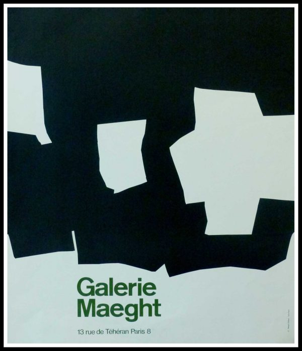 "(alt=""CHILIDA - Galerie MAEGHT Paris, original gallery poster, printed by ARTE 1960"")"