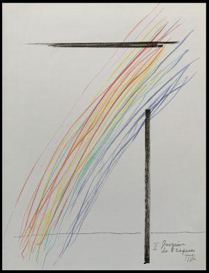 """ALT """"Original lithography Man Ray Invasion de l'espace 1975"""""""