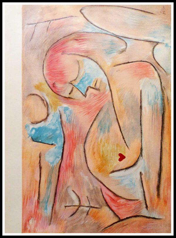 """(alt=""""lithographie, Paul KLEE, Sommeil d'hiver, 1938, signée dans la planche, Imprimerie MOURLOT"""")"""