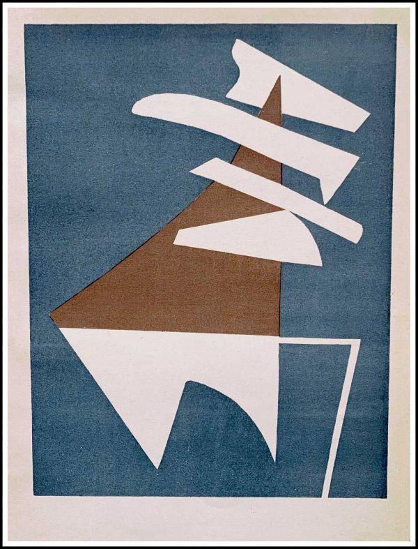"(alt=""original lithograph Alberto MAGNELLI, 1952, printed by DESJOBERT, Limited edition"")"