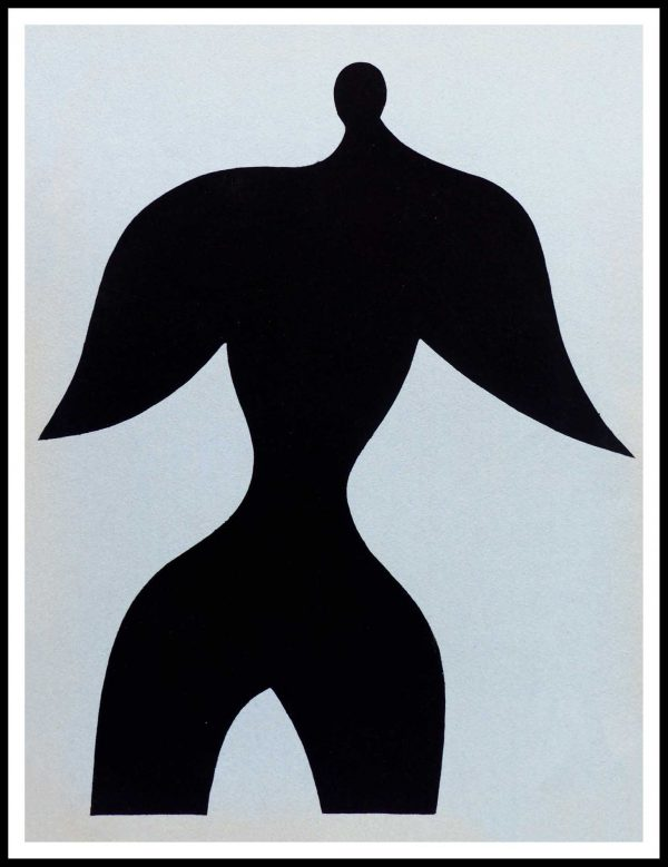 "(alt=""Pochoir original Jean ARP 31.5 x 24.5 cm 1957"")"
